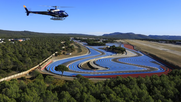 le castellet helicopter