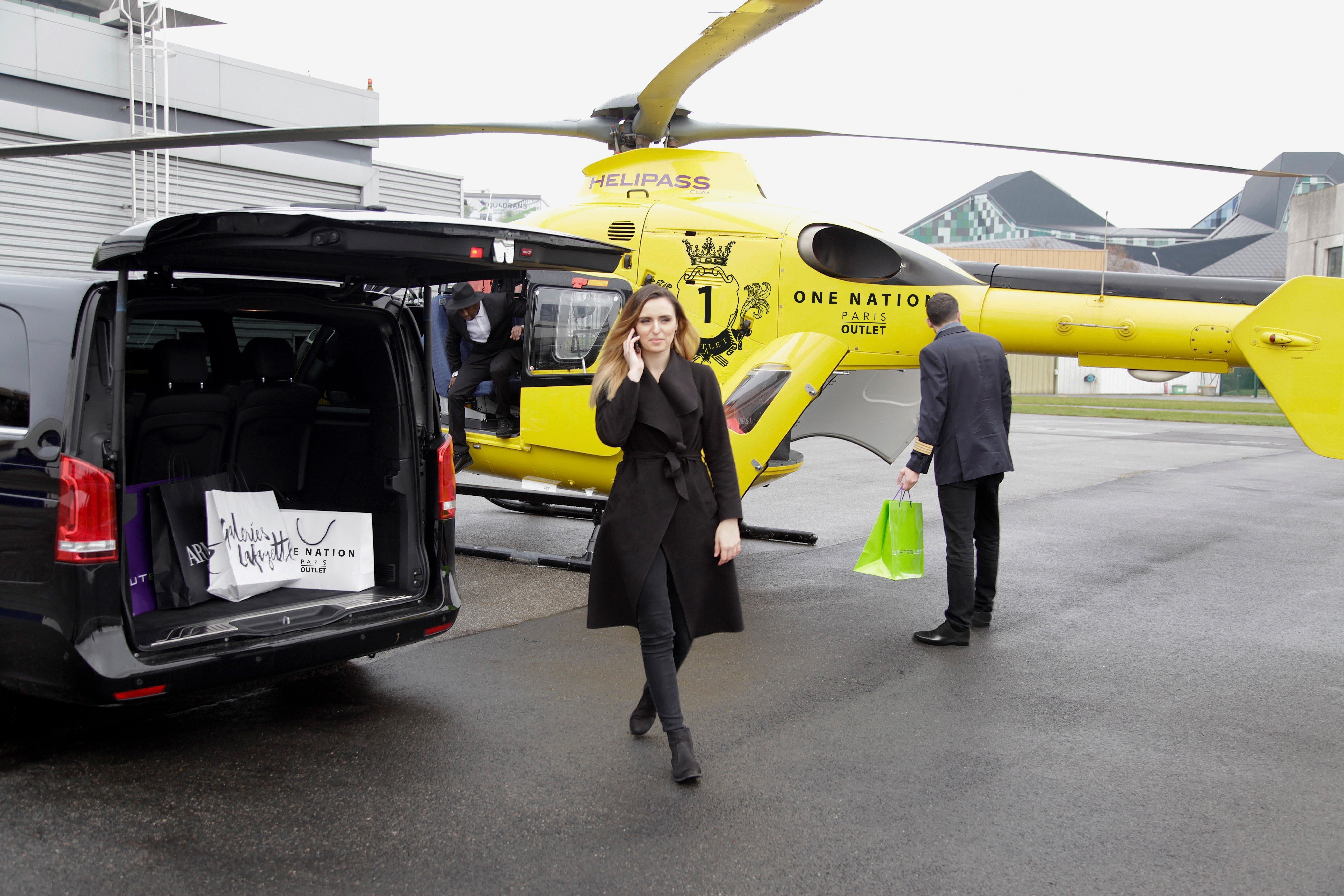 one nation helicopter transfer