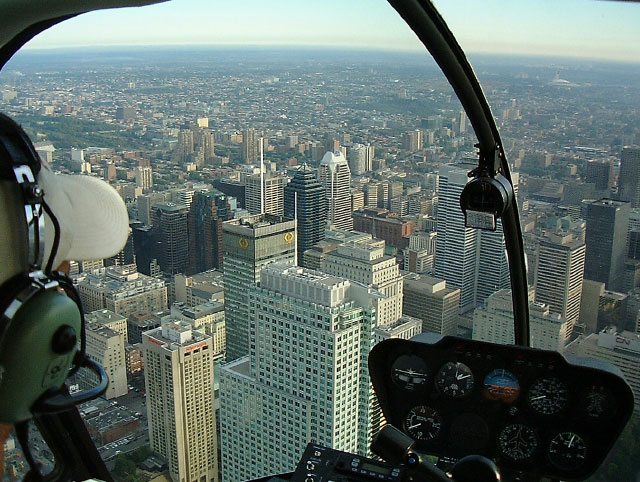 Robinson r22 vol montreal helicoptere chopper helico survol
